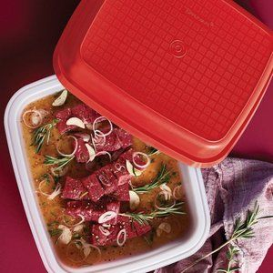 Tupperware Season-Serve Container Blue/Clear